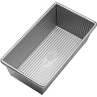 USA Pan 1140LF Bakeware Aluminized Steel Loaf Pan 8.5 x 4.5 x 3-Inch