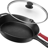 Cast Iron Skillet with Lid