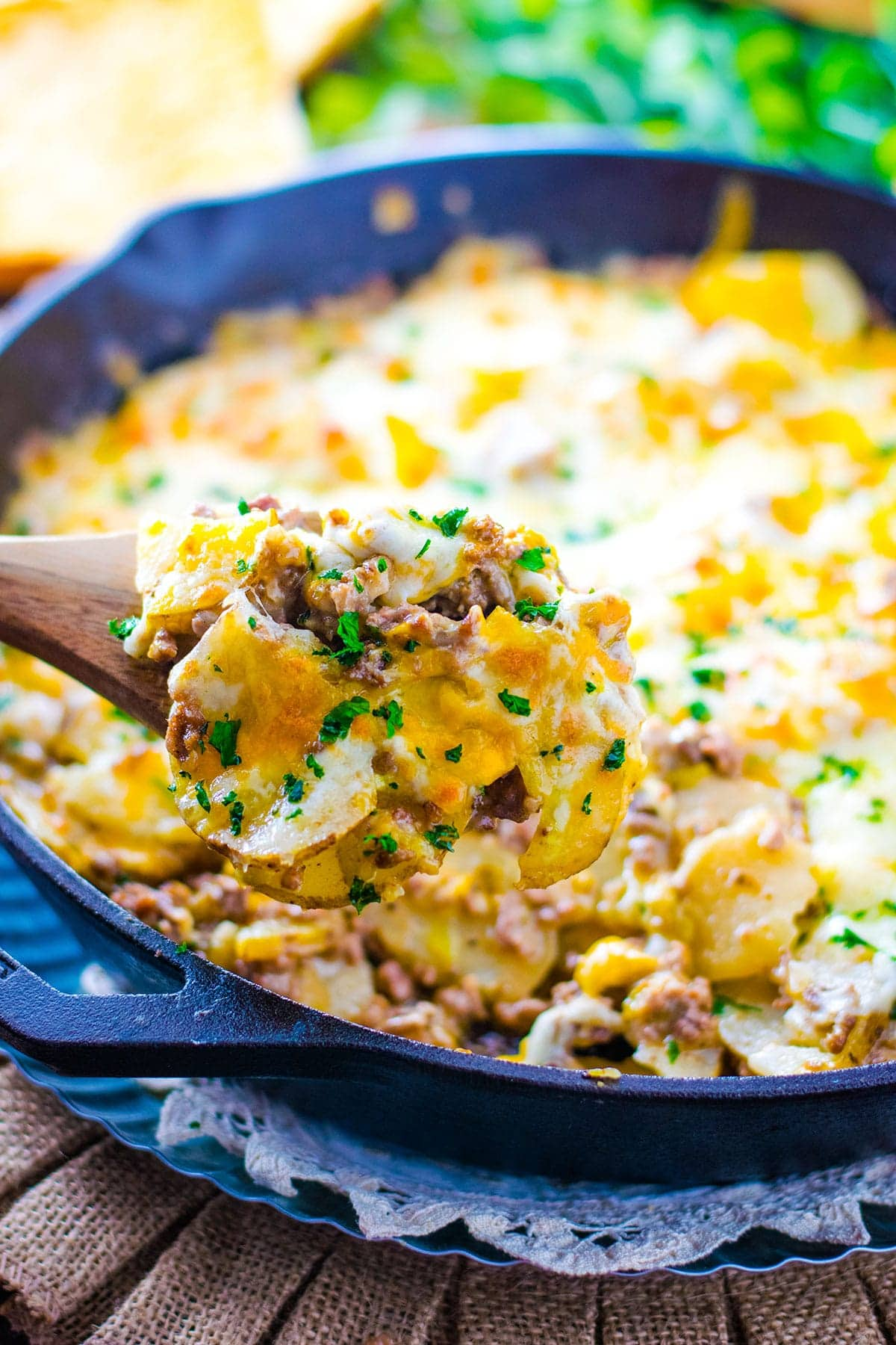 Easy Ground Beef And Potatoes Skillet Soulfully Made