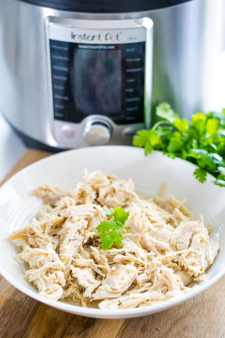 Shredded Instant Pot Chicken Breast