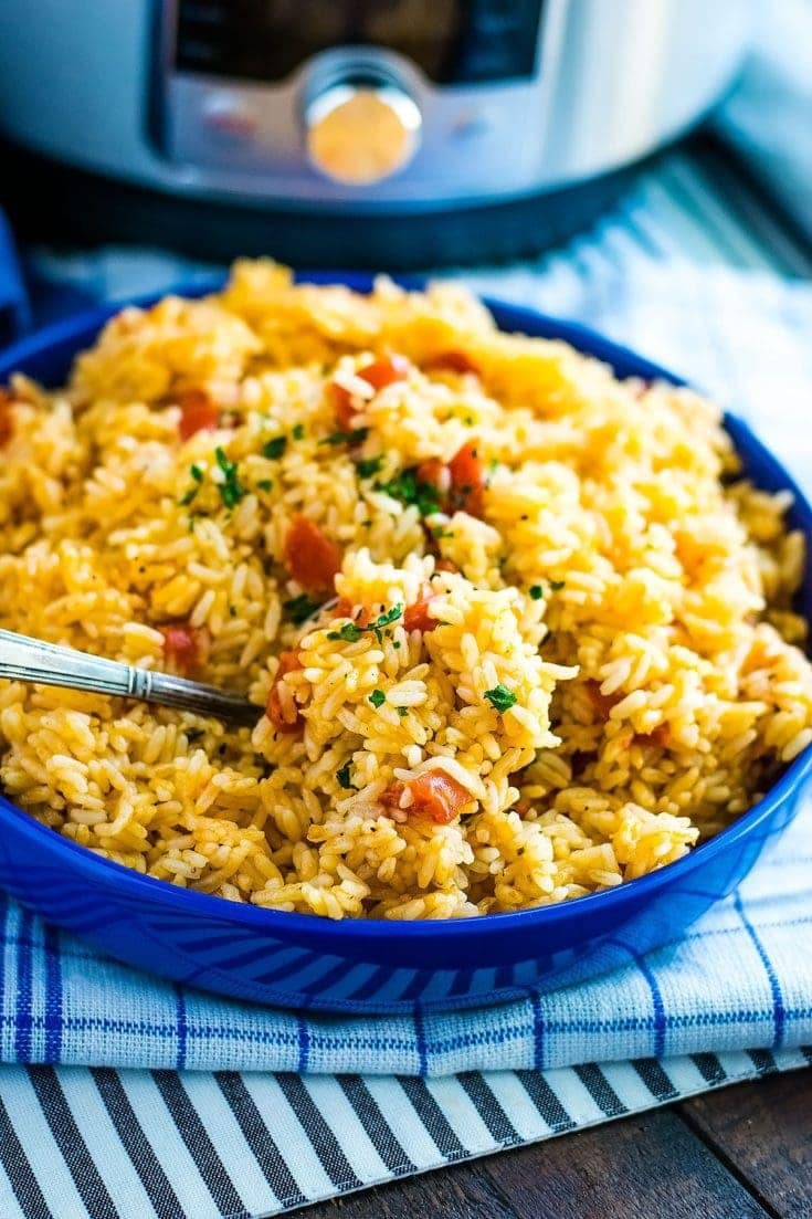 Instant Pot Southern Tomatoes and Rice