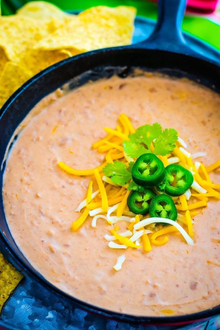 Easy Restaurant Style Refried Beans