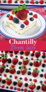 Chantilly Sheet Cake Pinterest Image